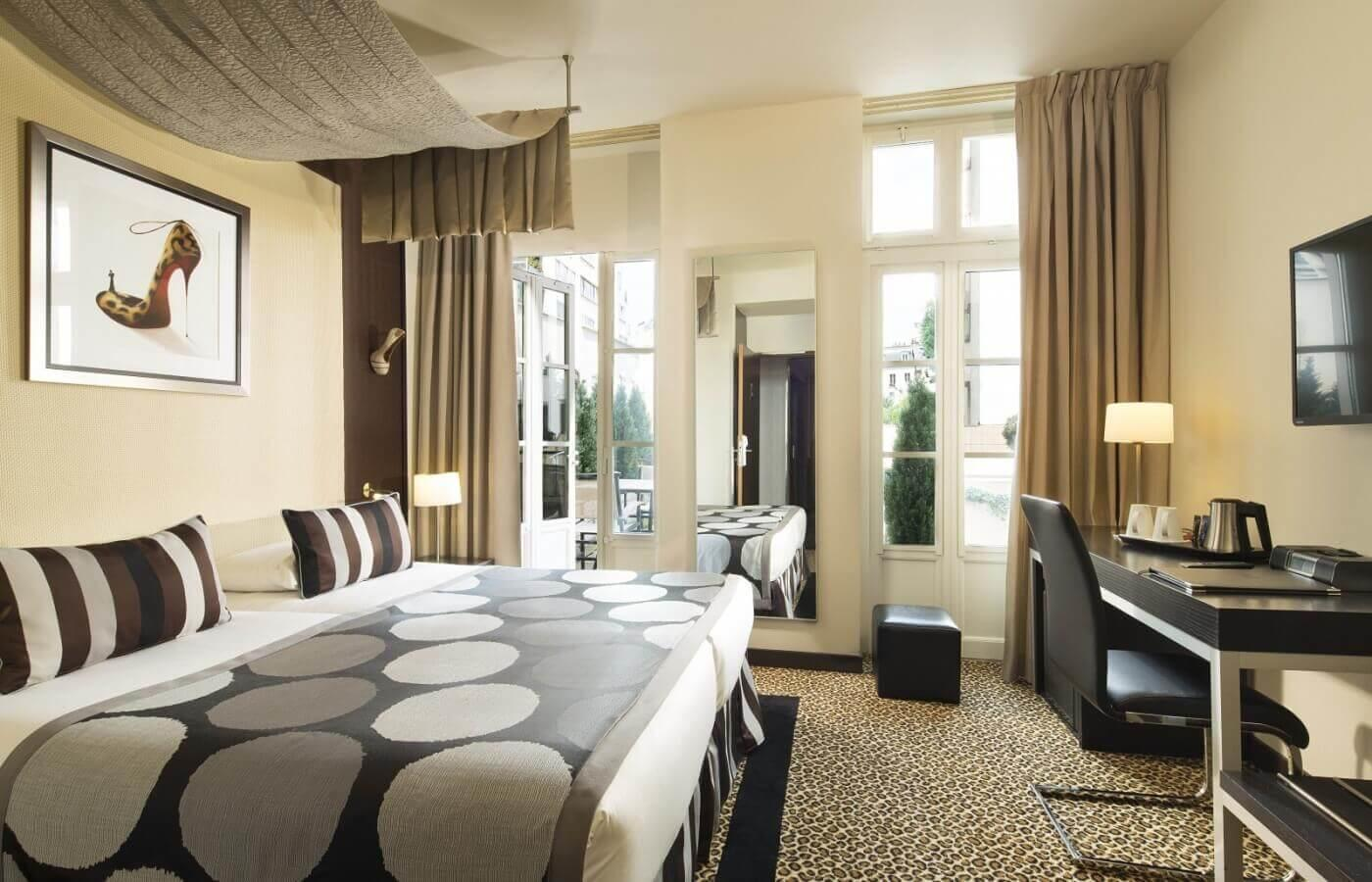 Rooms: 4-star Hotel Paris Rive